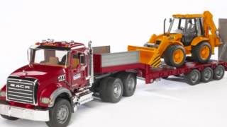 Bruder Mack Granite Flatbed Truck Toy