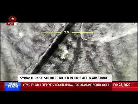 Syria: 33 Turkish Soldiers Killed In Idlib After Air Strike