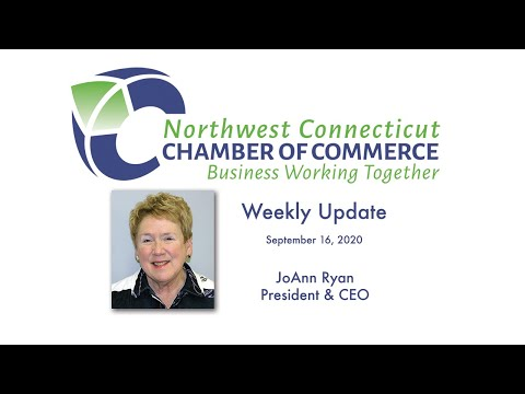 NW CT Chamber of Commerce weekly update 9/16/2020