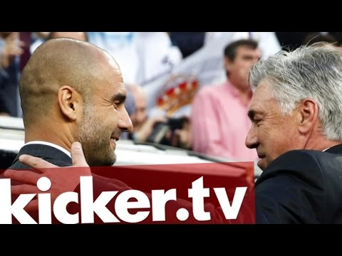 Was Carlo Ancelotti anders macht als Pep Guardiola - kicker.tv