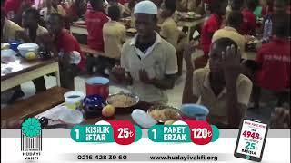 Burkina Faso'da İftar Sevinci