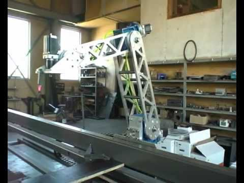 Arm For Welding Robot With Linuxcnc Youtube