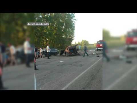 ДТП, Альшеевский район, трое погибших
