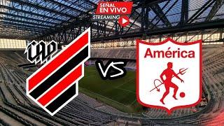 ATLETICO PARANAENSE 4 VS AMÉRICA 1 - COPA SUDAMERICANA 2021 - OCTAVOS DE FINAL (VUELTA)