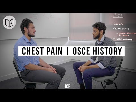 Chest Pain - OSCE history taking for Medical Students | Drs Manual