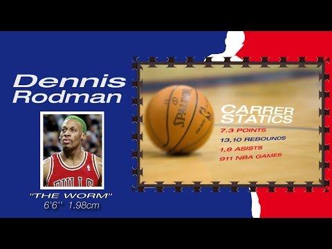Dennis Rodman LEYENDAS NBA