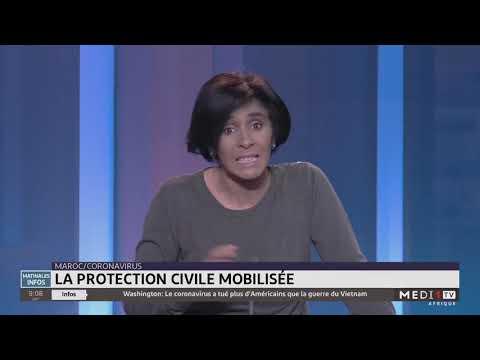 Nouveau coronavirus: la protection civile mobilisée