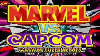Marvel vs Capcom OST: 05 - Captain America's Theme