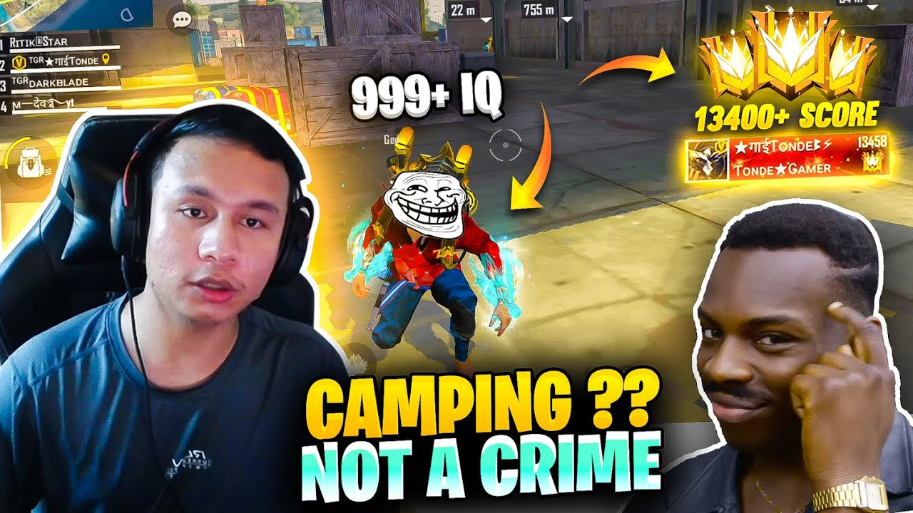 Sometimes Camping is not a Crime in Grandmaster Pro Lobby - Garena Free Fire