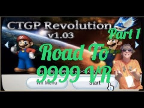 MKWii Is Dingy. (Road to 9999 VR Custom Tracks Part 1 with DatsMK)