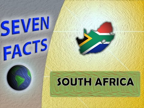 7 Facts about South Africa