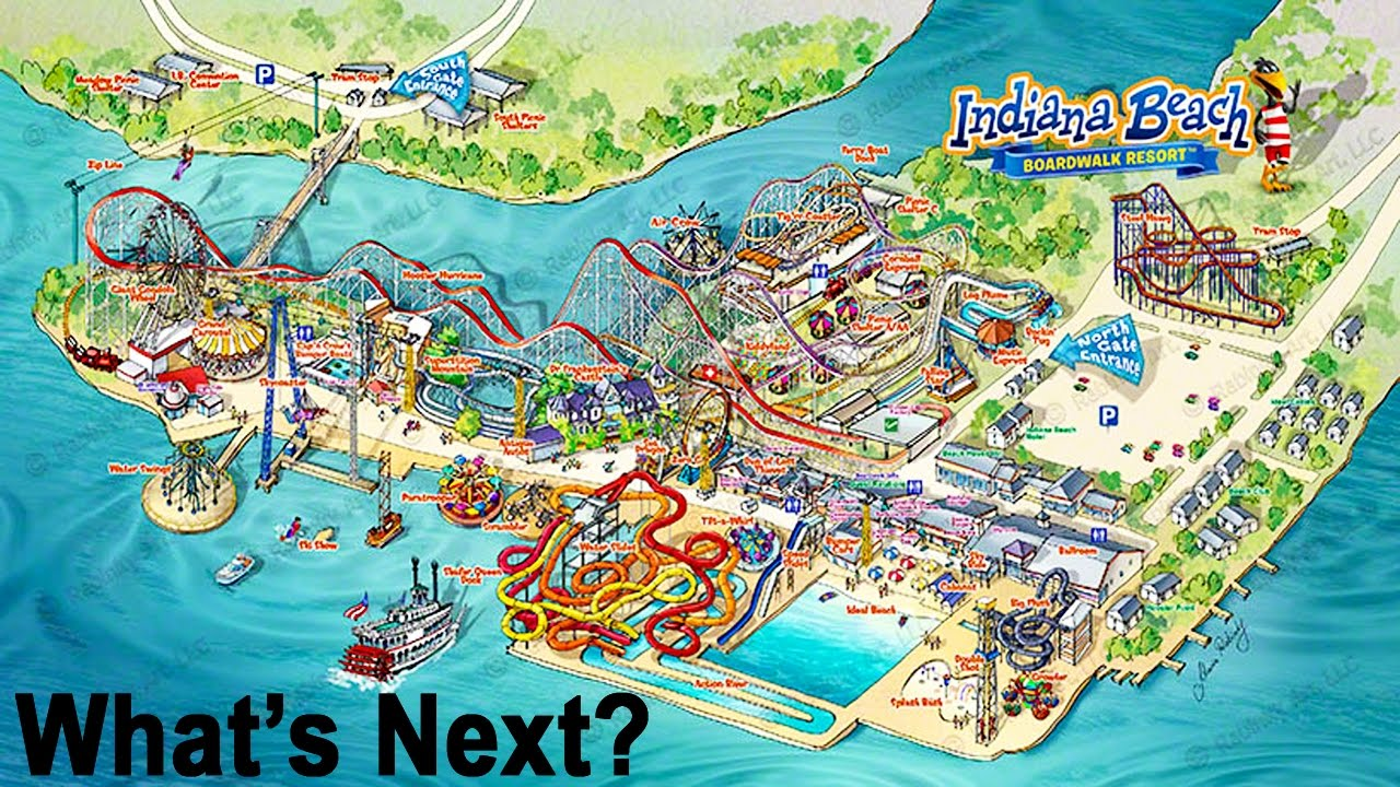 New Roller Coasters Coming To Indiana Beach! What Are Their Future ...