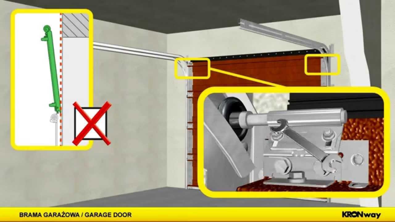 9 9 Sectional Garage Door : Kronway optimal sectional garage door brama