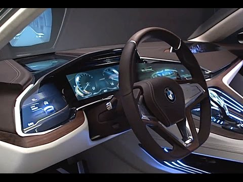 BMW 7 Series 2016 INTERIOR BMW Future Luxury BMW G11/G12 ...