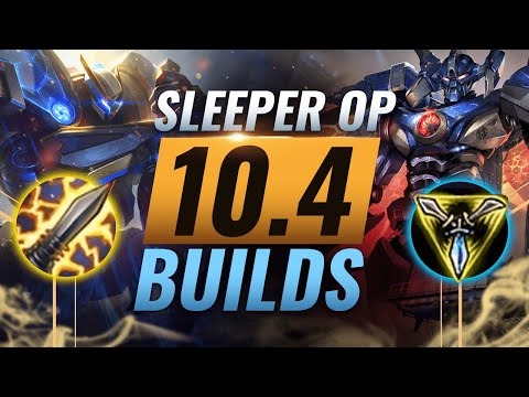 10 NEW Sleeper OP Builds Almost NOBODY USES In Patch 10.4 - League Of Legends Season 10