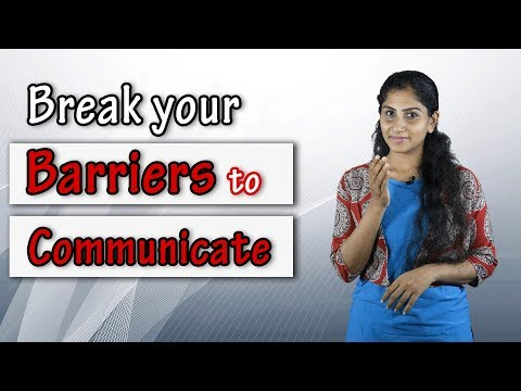 Communication Skills : Know and Break Your Barriers  | skillActz | Personality Development Training
