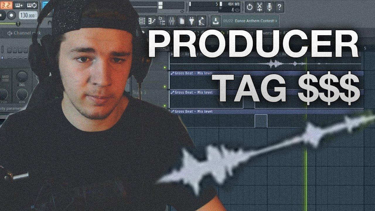 FL Studio 12 - How to make a Producer TAG!