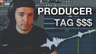 FL Studio 12 - How to make a Producer TAG!