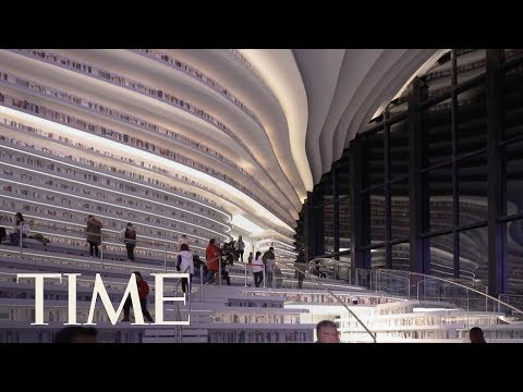 Take A Peek Into China's Futuristic—And Controversial—New 1.2 Million-Book Library | TIME