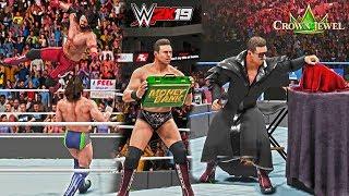 WWE 2K19: What if The Miz was Mr. MITB (Daniel Bryan vs AJ Styles Crown Jewel 2018 WWE Championship)