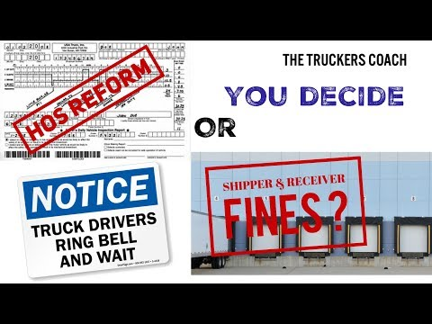 Hours of Service Regulations or Shipper & Receiver Levies / Fines