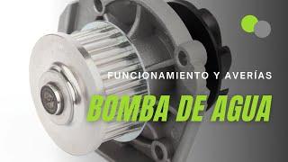 Bomba de agua: cómo funciona en un coche y sus averías