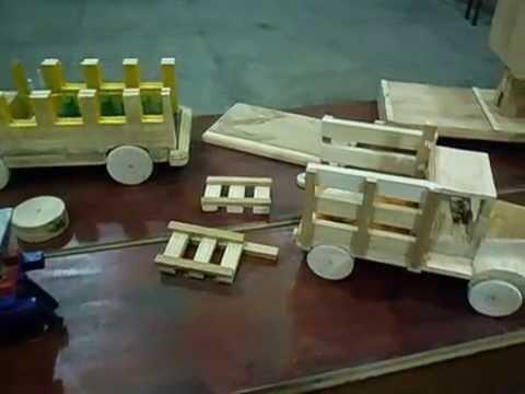 Manualidades en madera elaboradas en el invo - Manualidades con madera faciles ...