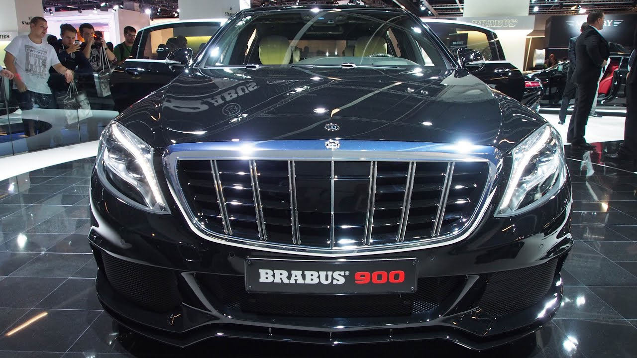 brabus 900 mercedes maybach s600 limousine v12 w222 ultra