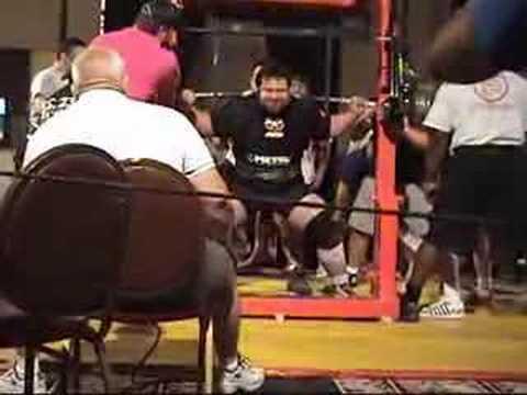 Chad Aichs Squat Dump 2006 APF Seniors