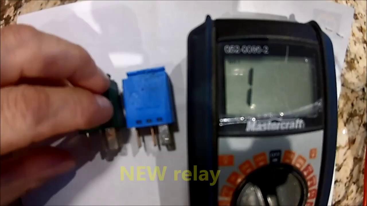 Wiper Relay Test Youtube Headlight Wiring Diagram 95 Rodeo