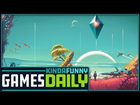 No Man's Sky's Second Chance - Kinda Funny Games Daily 03.29.18