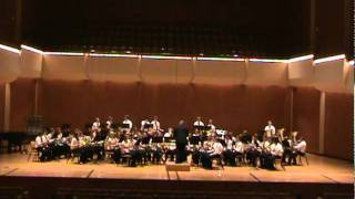 Tri-Valley High School Band performing Variations on a Korean Folk Song