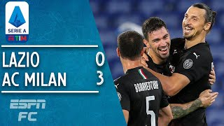 Lazio 0-3 AC Milan: Zlatan Ibrahimovic and co. send Juventus a huge gift | Serie A Highlights