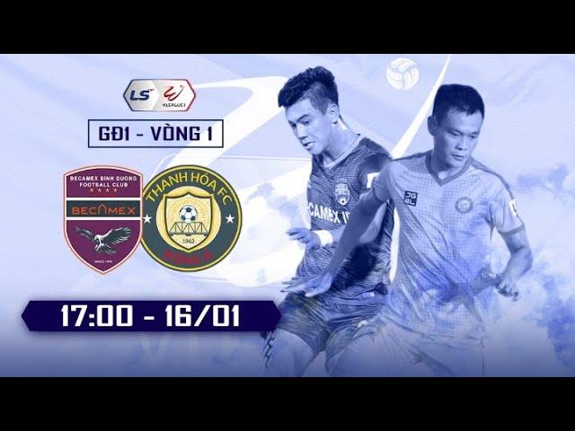 Review 🔴 BECAMEX BINH DUONG - THANH HOA   Vòng 1 V.League 2021 (H2)