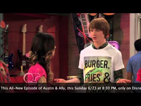 EXCLUSIVE! Austin & Ally SNEAK PEEK!