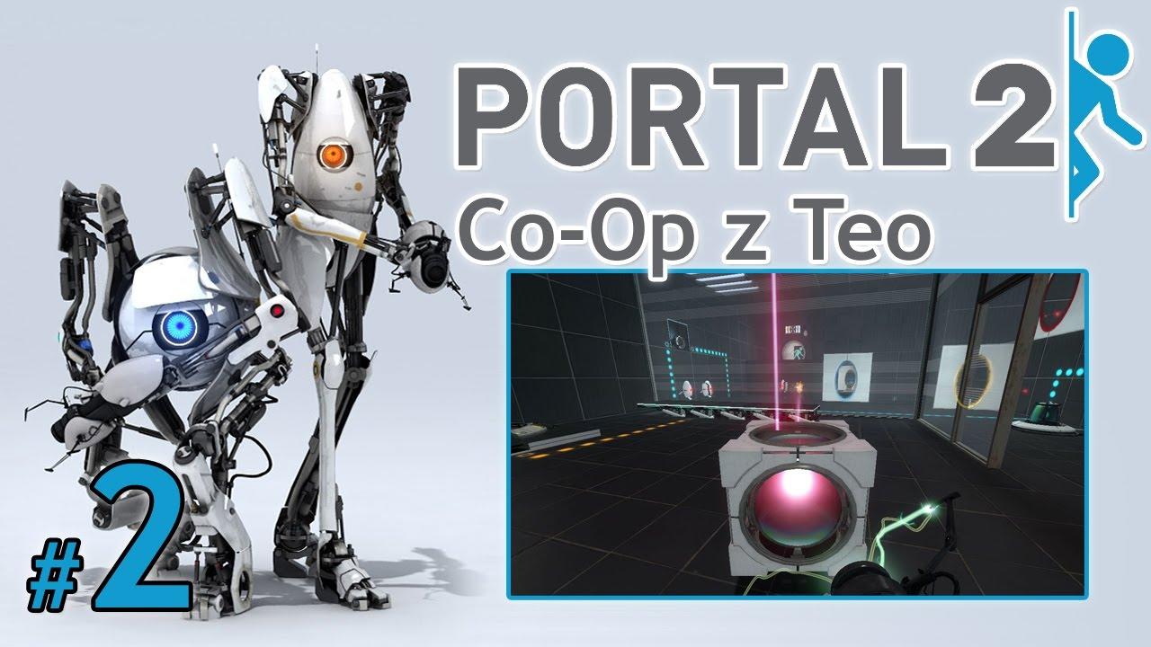 """Let's Play: Portal 2 Co-Op z Teo odc. 2 – Rozdział I – """"Smażymy laserem"""""""