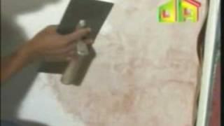 Aplicación de Estuco Veneciano Marmolizado EXTRACOLOR