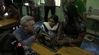 Myanmar: Sewing Project Helps Unite Divided Communities