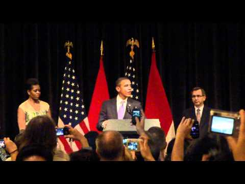 President Barack Obama's Meet and Greet with US Embassy Jakarta