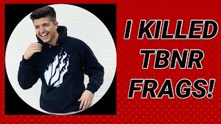 I KILLED A FAKE TBNR FRAGS THREE TIMES! (Bladerz-Fortnite)