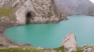 Пещеры возле озера Кель-суу. Кыргызстан. День #2