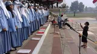 Indonesia Raya - Paduan Suara SMAN 1 Kuala Kapuas