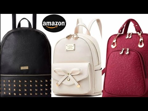"""amazon-online-shopping-😍!-diwali-offer-😊!-ladies-backpack-collection-by-""""rk-fashion-world""""..."""