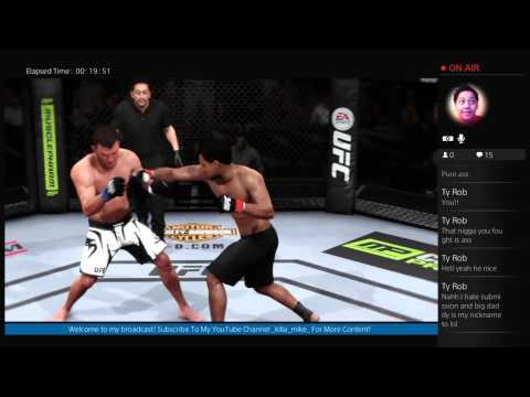 marine-sgt-mike's Live PS4 Broadcast UFC