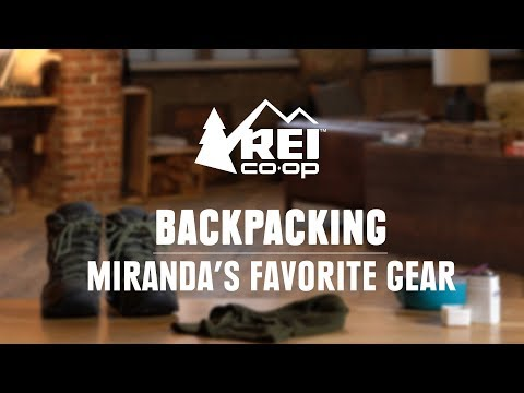 Miranda's Favorite Backpacking Gear || REI