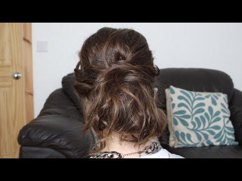 Prom Hair | Cute and Curly Up Do