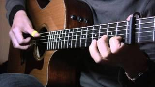 (Anime) Sword Art Online Ending 1 (Yume Sekai) - Fingerstyle Guitar Tab
