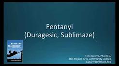How to pronounce fentanyl (Duragesic, Sublimaze) (Memorizing Pharmacology Flashcard)