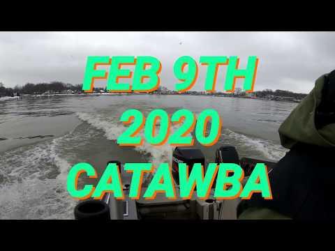 Lake Erie Walleye Jigging Trip To Port Clinton Ohio Catawba