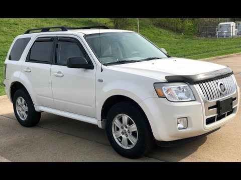 2009 Mercury Mariner (White)